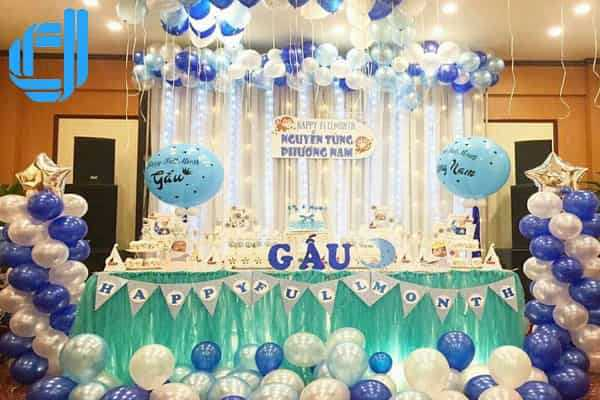 Dịch vụ tổ chức sinh nhật bằng bong bóng cho bé tại Đà Nẵng