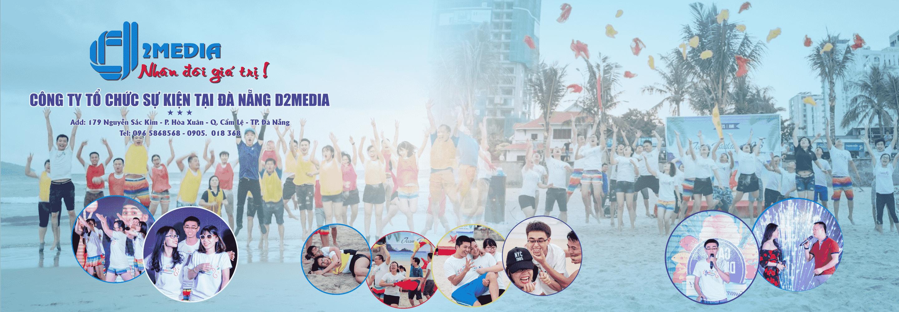 NỔI BẬT Tổ chức Team Building Đà Nẵng D2Media