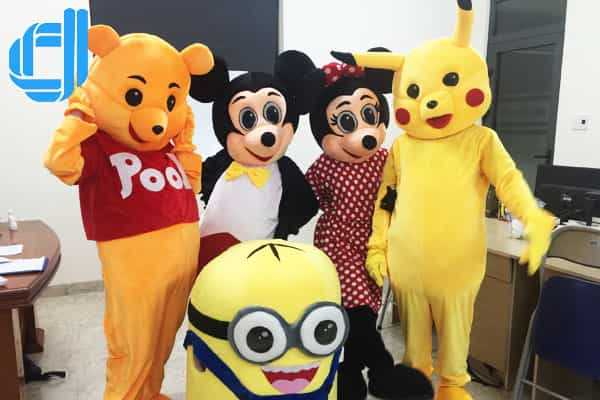 Dịch vụ cho thuê Mascot được sử dụng nhiều các sự kiện Đà Nẵng