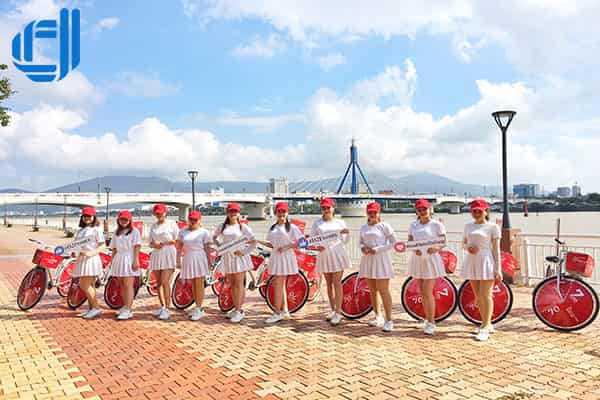Dịch vụ tổ chức roadshow tại Đà Nẵng bằng xe đạp, xe máy giá tốt