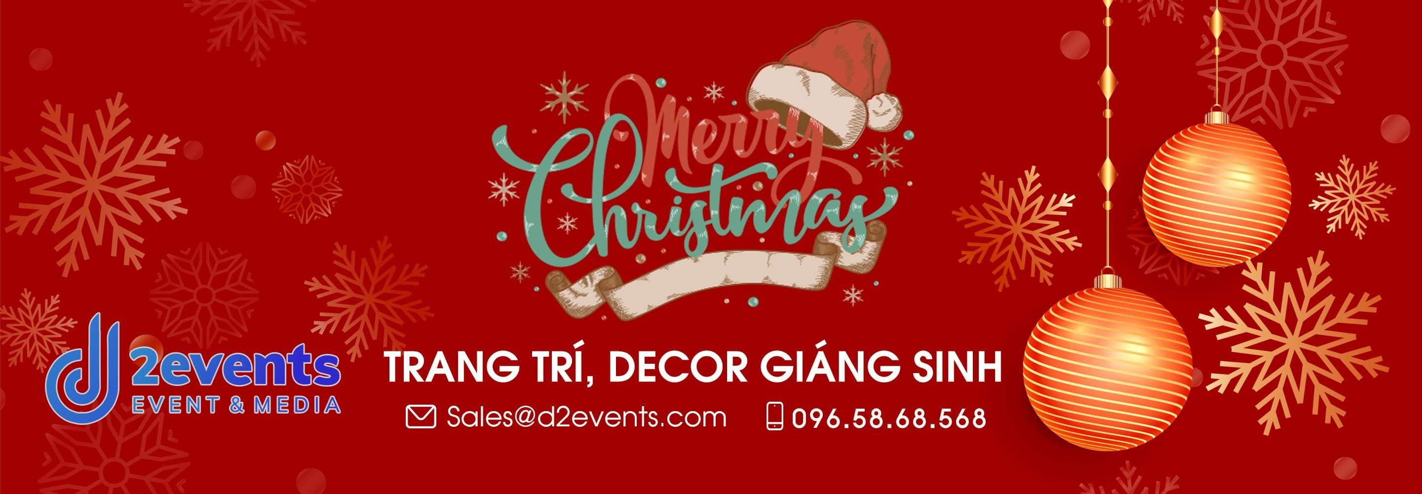 Trang trí giáng sinh tại Đà Nẵng Chuyên Nghiệp Thiết kế 3D